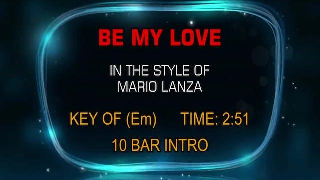 Mario Lanza - Be My Love