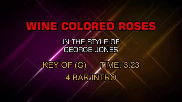 George Jones - Wine Colored Roses