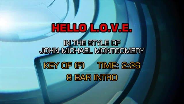 John Michael Montgomery - Hello L-O-V-E