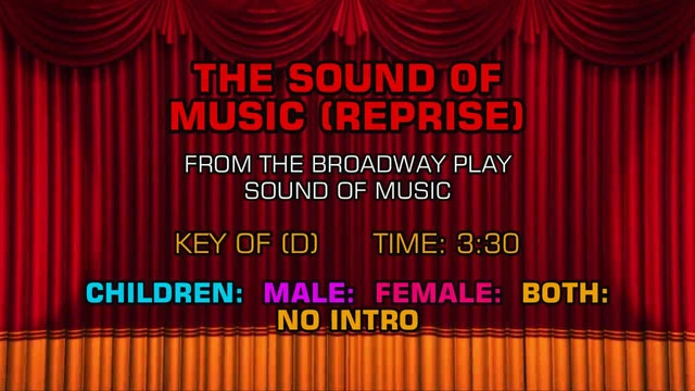 Sound of Music - The Sound of Music (Reprise)