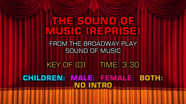 Sound of Music - The Sound of Music (...