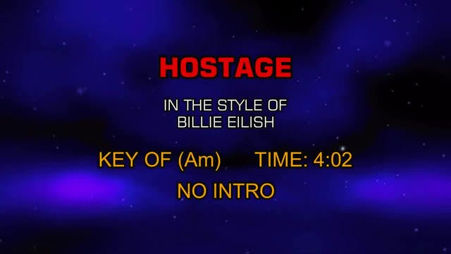 Billie Eilish - Hostage