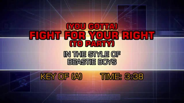 The Beastie Boys - (You Gotta) Fight ...