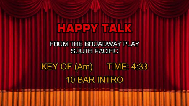 South Pacific - Happy Talk