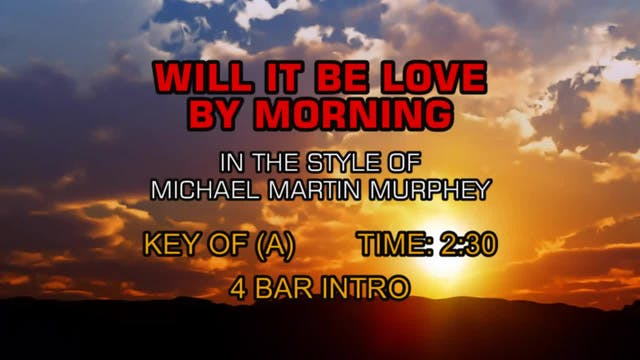 Michael Martin Murphey - Will It Be L...