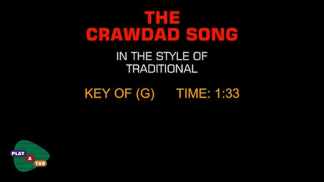 Traditional Bluegrass - The Crawdad Song - Play A Tab