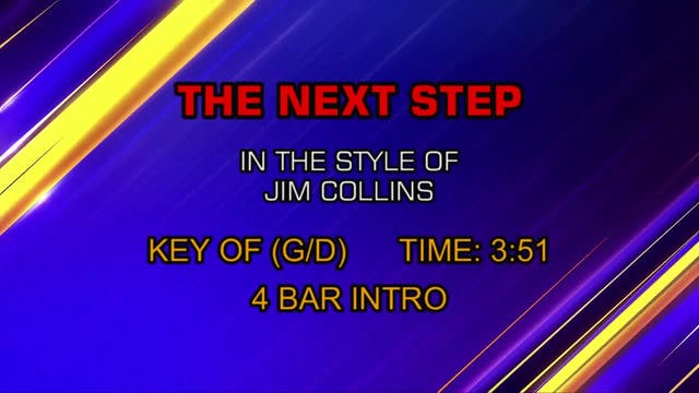 Jim Collins - Next Step, The