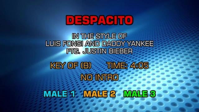 Luis Fonsi, Daddy Yankee, Justin Bieber - Despacito