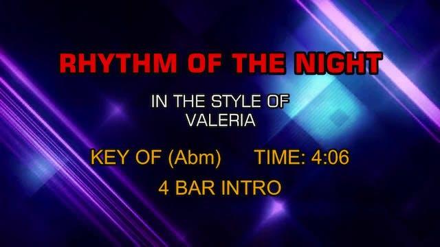 Valeria - Rhythm Of The Night