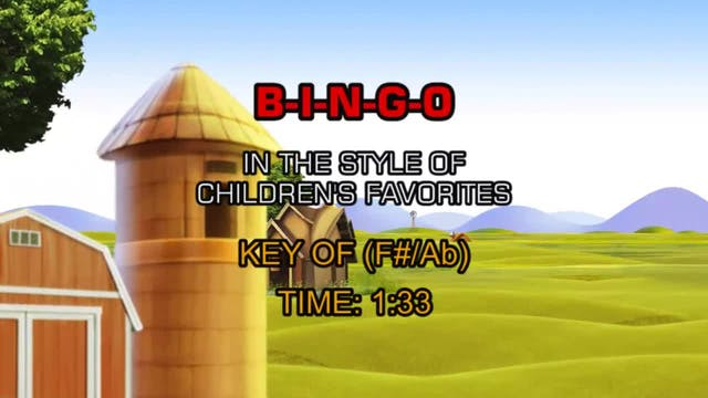 Children's Favorites - B-I-N-G-O