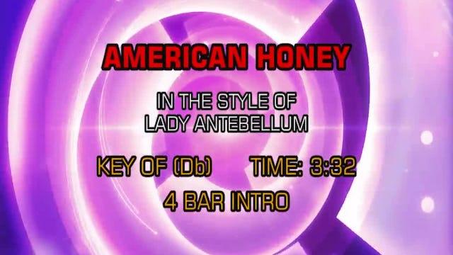 Lady Antebellum - American Honey