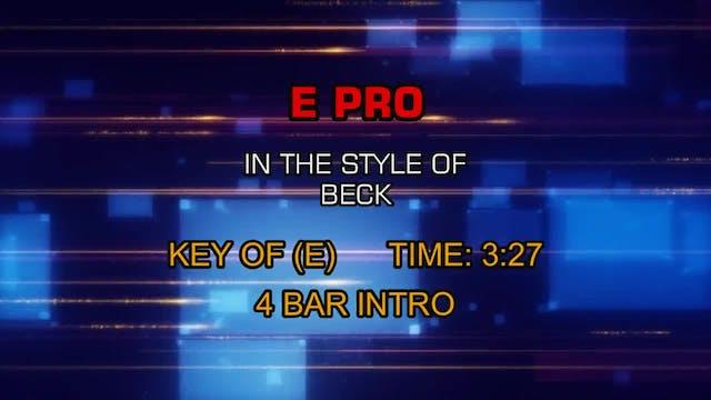Beck - E Pro