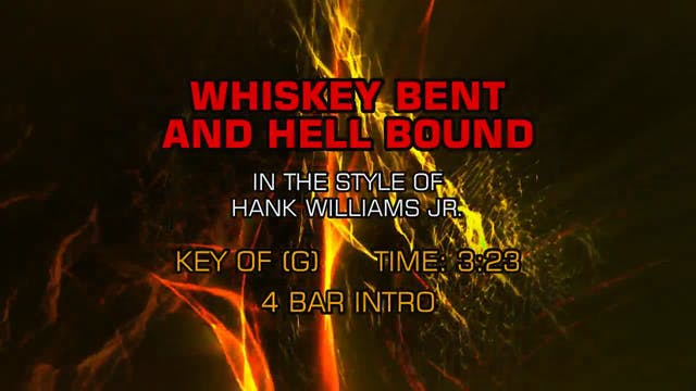 Hank Williams Jr. - Whiskey Bent And ...