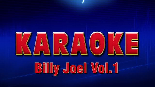 Lightning Round Karaoke - Billy Joel Vol.. 1