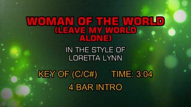 Loretta Lynn - Woman Of The World (Le...