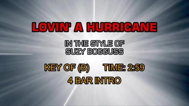 Suzy Bogguss - Lovin' A Hurricane