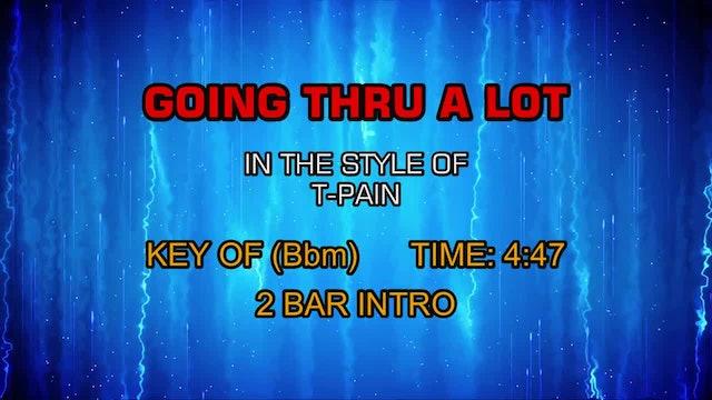 T-Pain - Going Thru A Lot