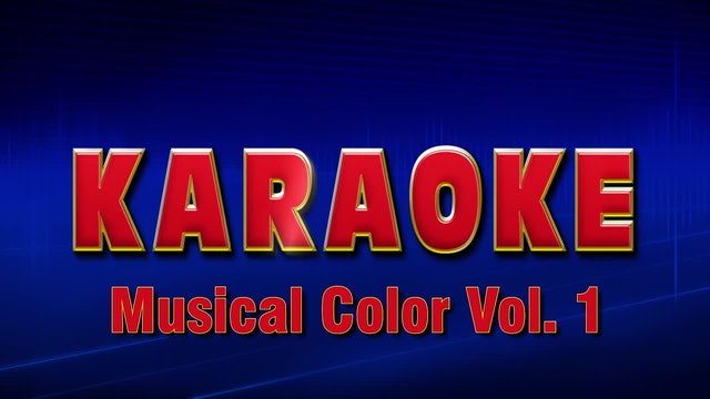 Lightning Round Karaoke - Musical Color Vol. 1