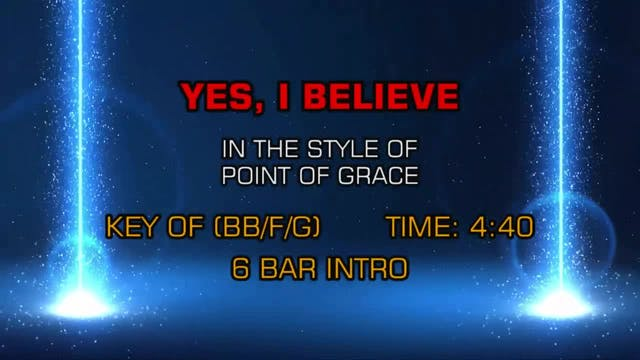 Point Of Grace - Yes, I Believe