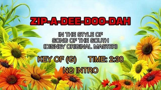 Song Of The South (Disney Original Master) - Zip-A-Dee-Doo-Dah