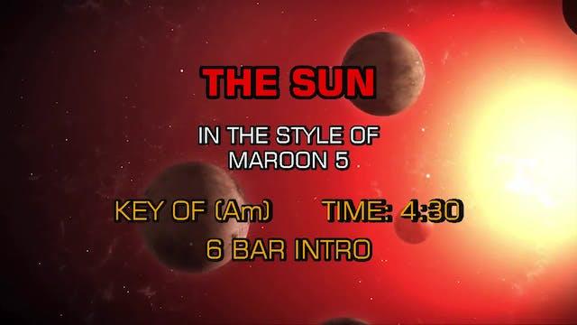 Maroon 5 - The Sun