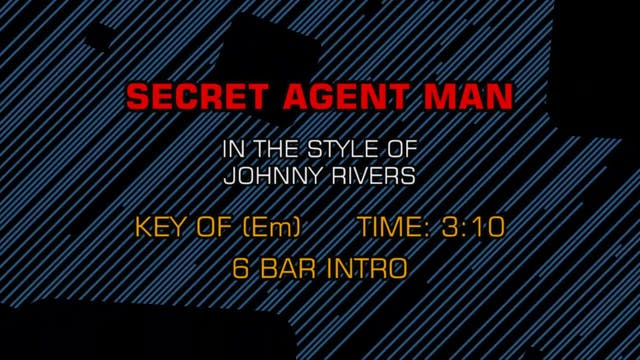 Johnny Rivers - Secret Agent Man