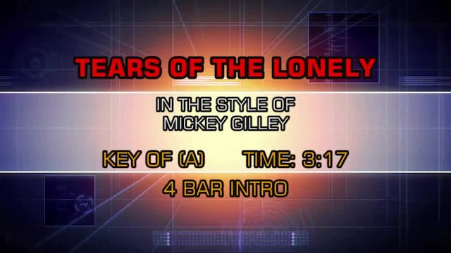 Mickey Gilley - Tears Of The Lonely