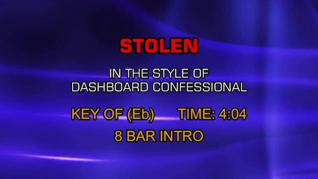 Dashboard Confessional - Stolen