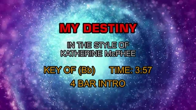 Katherine McPhee - My Destiny