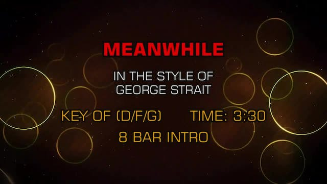 George Strait - Meanwhile