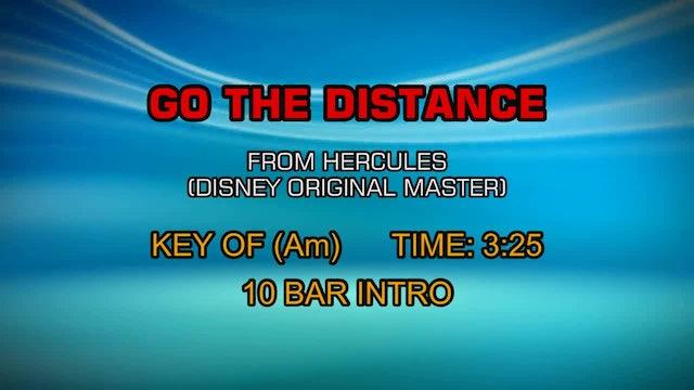 From Hercules (Disney Original Master) - Go The Distance
