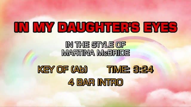 Martina McBride - In My Daughter's Eyes