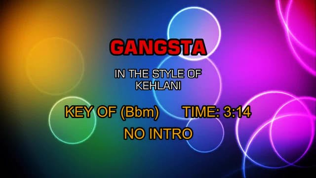 Kehlani - Gangsta