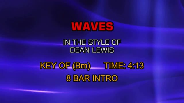 Dean Lewis - Waves