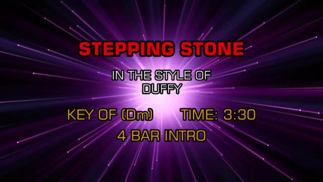 Duffy - Stepping Stone
