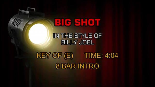 Bill Joel - Big Shot