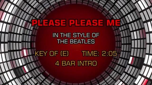 Beatles, The - Please Please Me