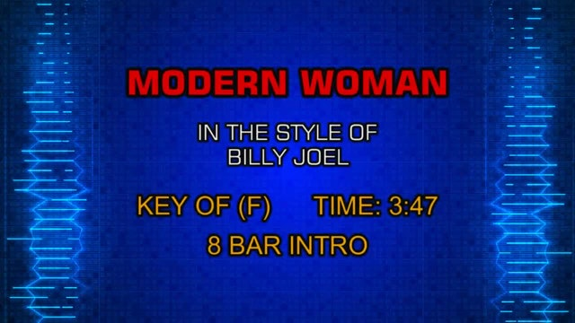 Billy Joel - Modern Woman