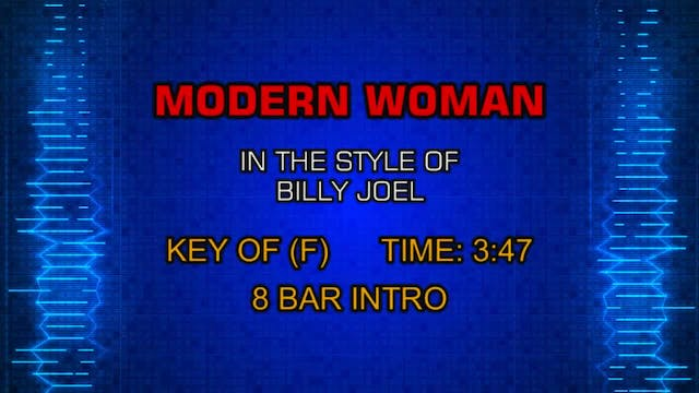 Billy Joel - Modern Woman