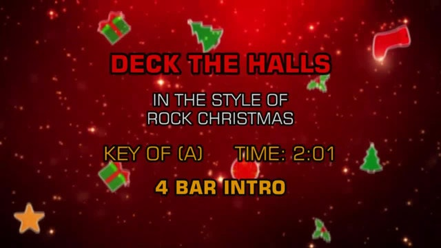 Rock Christmas - Deck The Halls