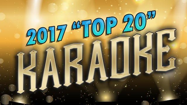 2017 Top 20 Karaoke Songs