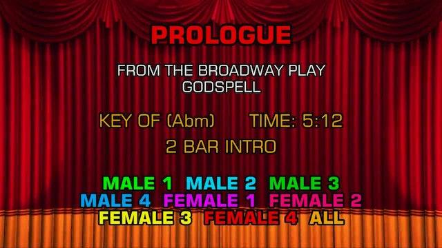 Godspell - Prologue