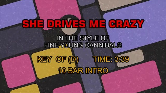 Fine Young Cannibals - She Drives Me ...