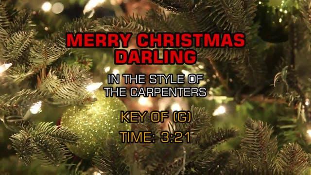 Carpenters, The - Merry Christmas Dar...