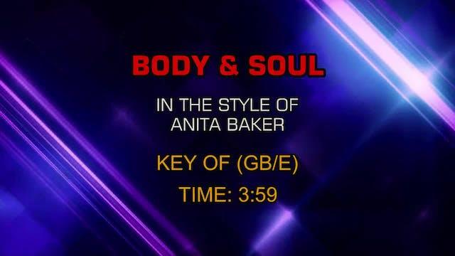 Anita Baker - Body & Soul