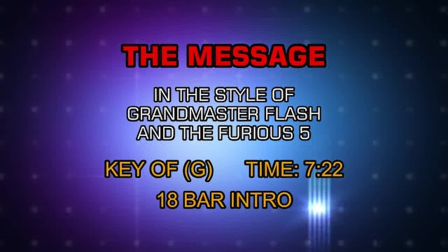 Grandmaster Flash And The Furious 5 - Message, The