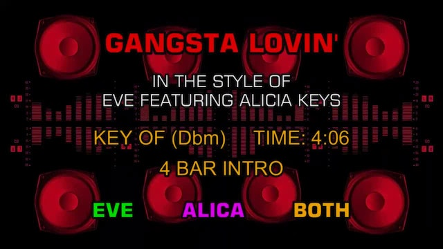 Eve ftg. Alicia Keys - Gangsta Lovin'