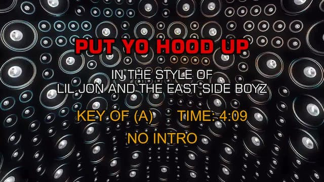 Lil Jon and the East Side Boyz - Put ...
