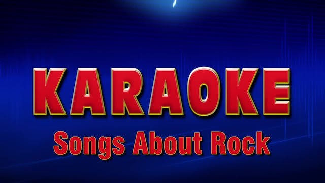 Lightning Round Karaoke - Songs About...