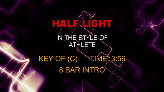 Athlete - Half Light